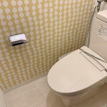 おトイレはかわいらしい雰囲気