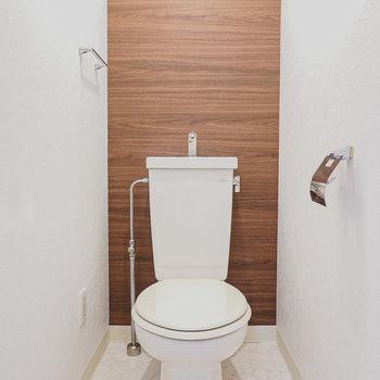 もちろんおトイレも居心地良く改装済み。