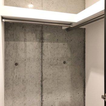 そしてなんと、廊下部分にもウォークインクローゼットがあるんです!