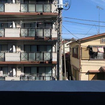 眺望は静かな住宅街。