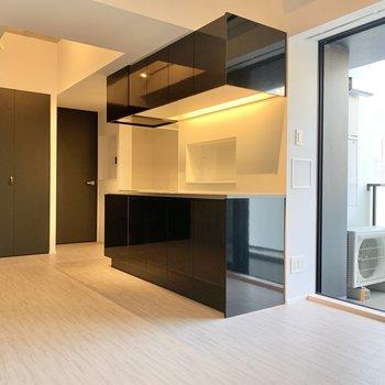 キッチンは広めです。