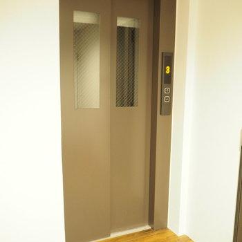 エレベーターがあるので楽ちん