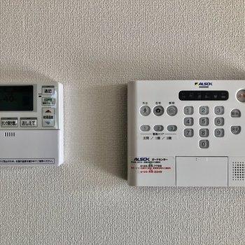 ALSOKホームセキュリティ搭載で安心です。