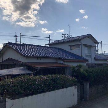 青い空がきもちいいな〜!