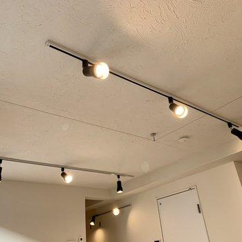 お部屋を照らすのはライティングレール