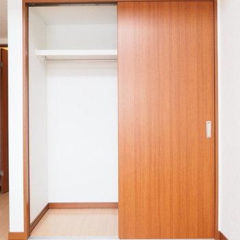 クローゼットはここに※写真は別室です