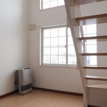 5.4帖の洋室にはロフトがついています※写真は別室です