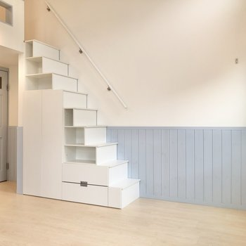 【LDK】階段をよーく見てみると……。