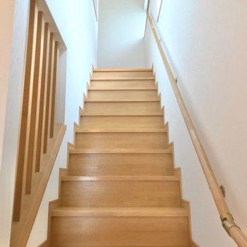 さて、つづいて2階へ。