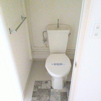 トイレもすっきり綺麗です。