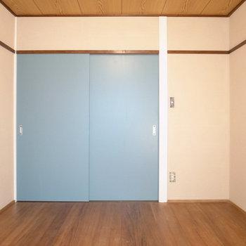 【洋室】広さも、全く狭くありません。
