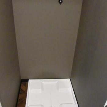 洗濯乾燥機も設置可能