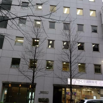 大きめのオフィスビルです