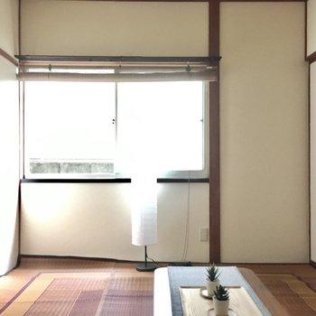 こちらは和室6畳。(※写真の家具・小物は見本です)