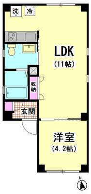 A S Residence の間取り