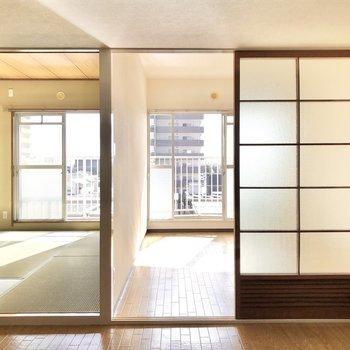 和と洋の2つの顔が見られますよ◎※写真は4階同間取り別部屋のお写真です。