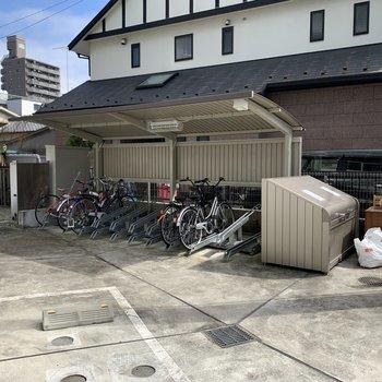 自転車置き場完備。※空き要確認