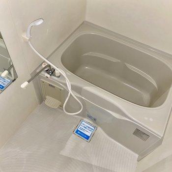 ゆっくりできそうなお風呂ですね!