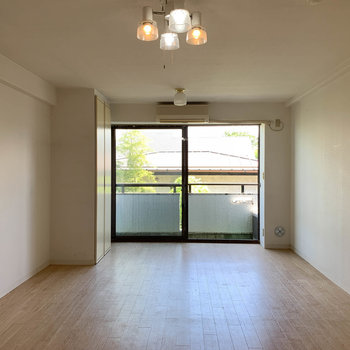 縦長、広いお部屋。ペットとはしゃぎたい。※写真は3階の同間取り別部屋のものです