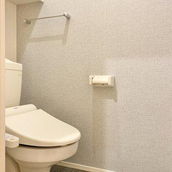 トイレはゆったりサイズ