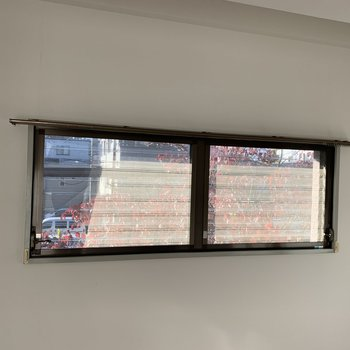 【工事前】角部屋の特権。植物の見える窓です◎
