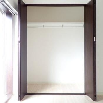 洋室4.5帖】クローゼットは容量たっぷり