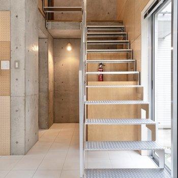 お次は2階へ。