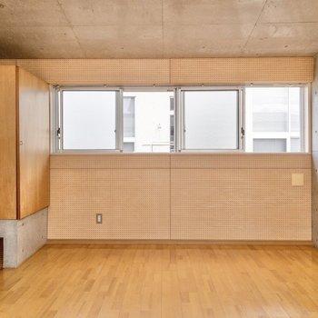 【洋室】テレビの線は2階にもありますよ。
