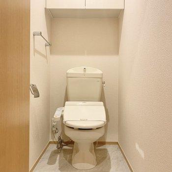 トイレはゆったりできる広さ