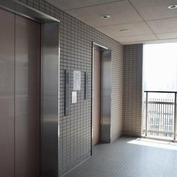 天空のエレベーター・・