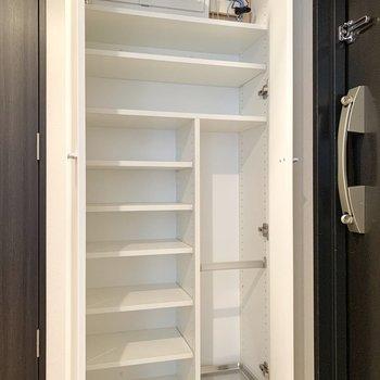 一人暮らしの方には嬉しい容量ですよね。※写真は4階の同間取り別部屋のものです