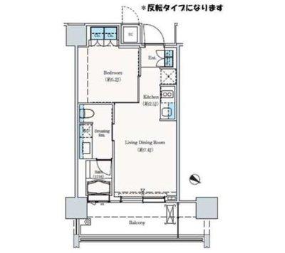 THE ROPPONGI TOKYO S の間取り