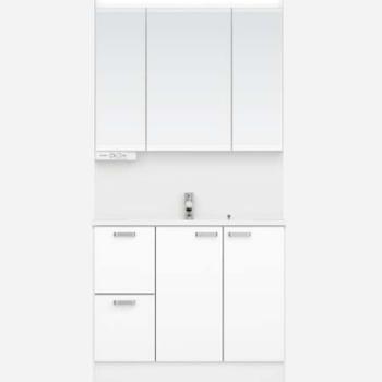 【イメージ】洗面台はPanasonicのシャワー付き洗面台を。
