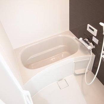 浴室乾燥機つきの頼もしさです!広さもゆったりめ。