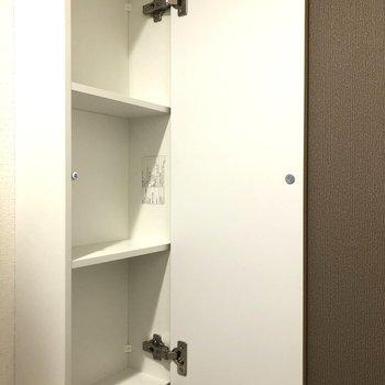 ここ!トイレもナイス!※写真は9階の反転間取り別部屋のものです。