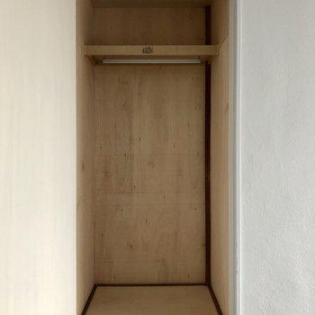 【洋室】もう一つの方も容量があり、使い分けることが可能です。