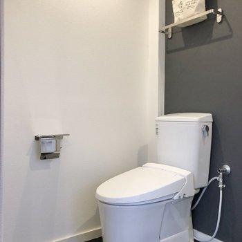トイレは至ってシンプル。