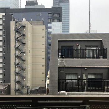 9階のお部屋なので、街を見下ろすことができます。