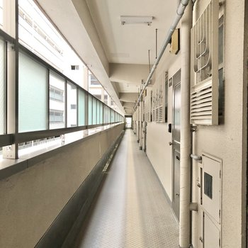 引っ越しの際に慌てないよう、廊下の幅をチェックしてみてくださいね。※写真は前回募集時のものです