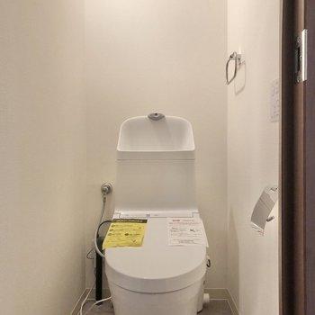 スタイリッシュなトイレにご挨拶。※写真は前回募集時のものです