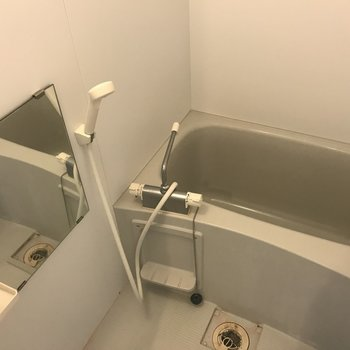 お風呂はこんな感じ※写真は3階の同間取り別部屋のものです