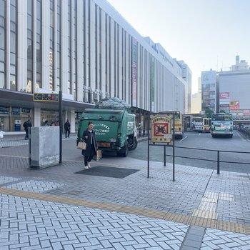 平塚駅前は発展しています。