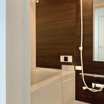 ホテルライクな浴室。