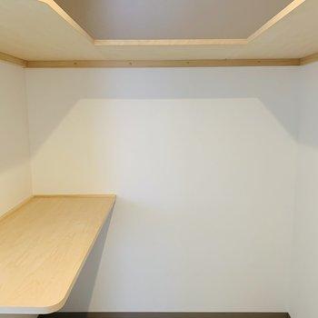 大容量のウォークインタイプです♪※建築中のお部屋です