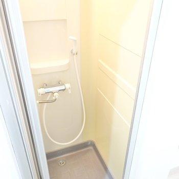 浴槽がありませんが、一人暮らしなら時短になります。