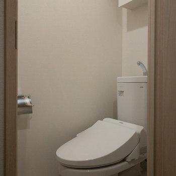トイレももちろんピカピカ。
