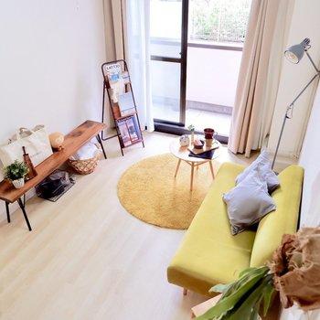 シェアハウスでも各お部屋はゆったりしていますね。※写真は1階の同間取り別部屋のものです