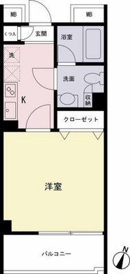VIA LATTEA笹塚 の間取り