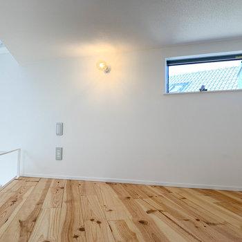 【ロフト】ロフトというよりも、屋根裏部屋のような感覚。