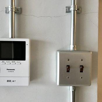 そしてこのお部屋、スイッチも可愛いのです…!